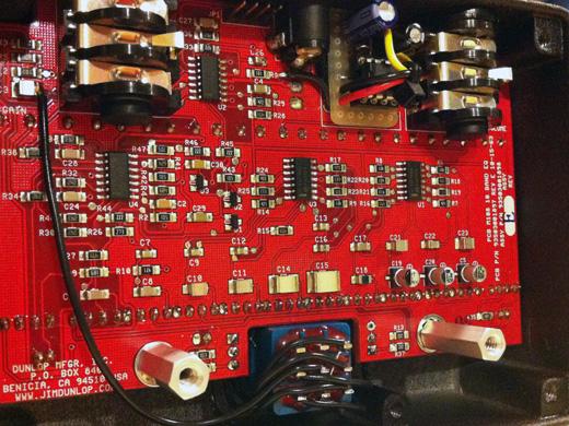 MXR M-108 10 band eq - True Bypass + Power Supply mods