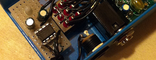 Positive Ground Pedals - Power Supply Mod