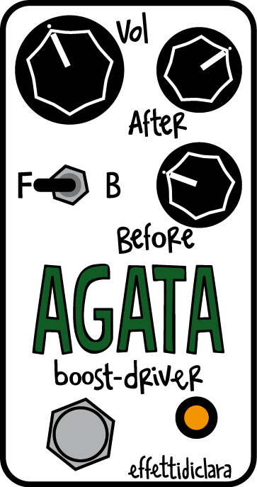 effettidiclara agata - overdrive/booster