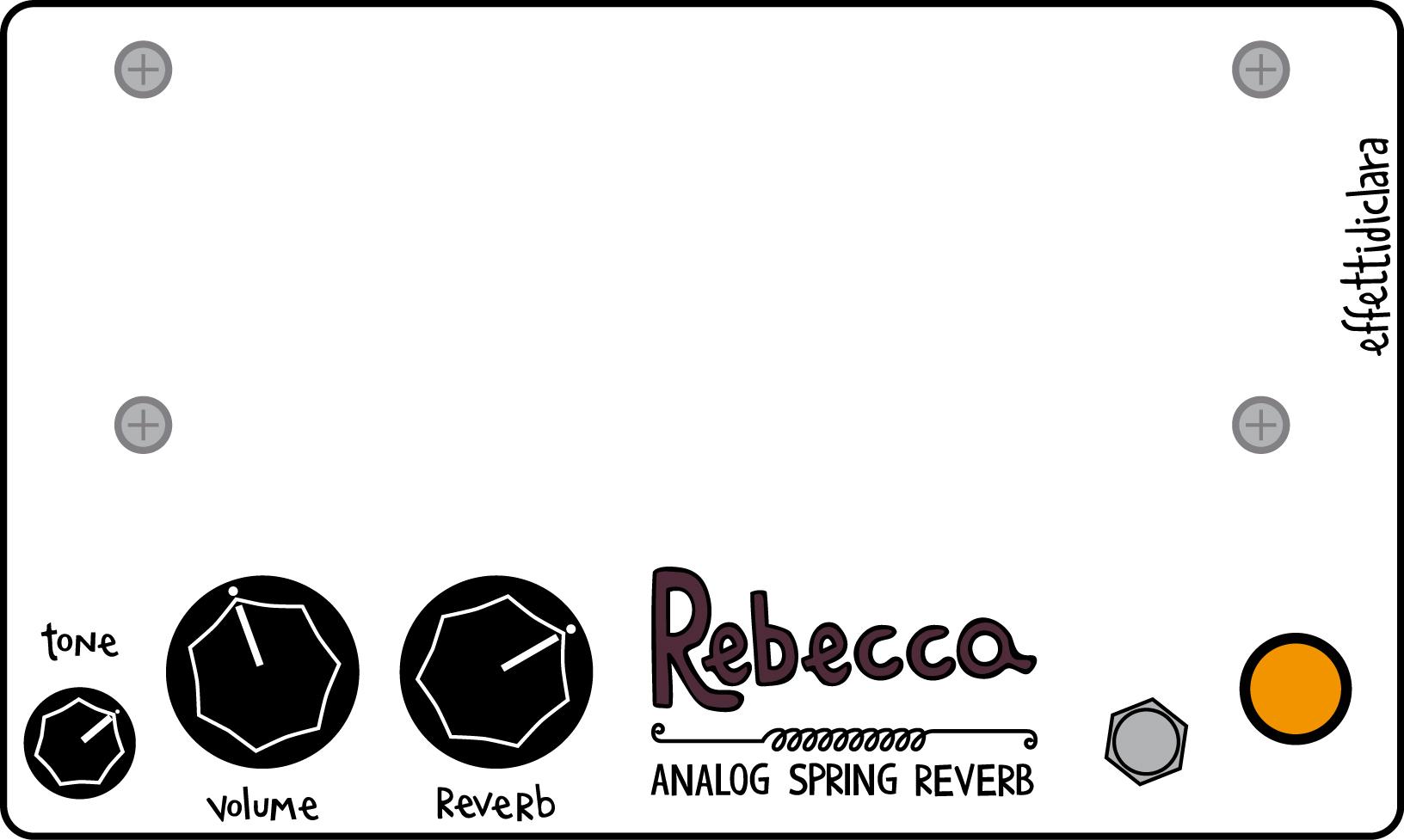 effettidiclara rebecca - analog spring reverb